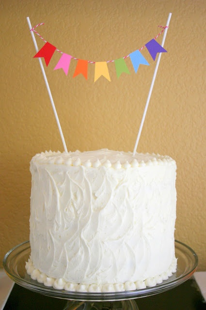 Bunches and Bits: Rainbow Spa Birthday