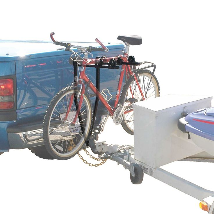 Hitch Receiver Sizes >> Hitch Grip towable bike rack can carry up to 3 bikes while ...