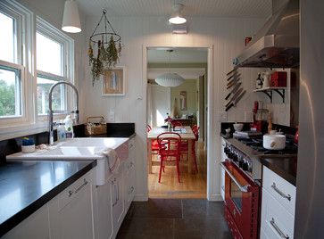 Black Honed Granite Countertops / Amy A. Alper, Architect   Eclectic    Kitchen   San Francisco   Amy A.