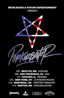 Long Live The Loud 666: PERTURBATOR U.S TOUR JANUARY2017