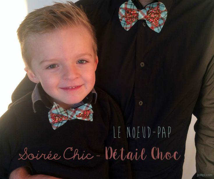 Coudre un noeud papillon homme ou enfant : idée accessoire pour soirée chic détail choc, tuto couture facile pour fabriquer un nœud papillon double liberty