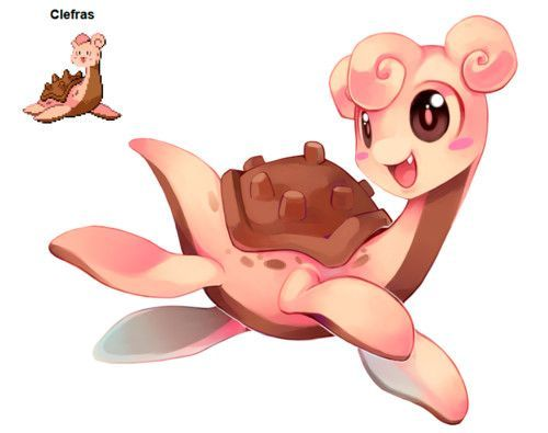 Image result for pokemon fusion clefairy                                                                                                                                                                                 More