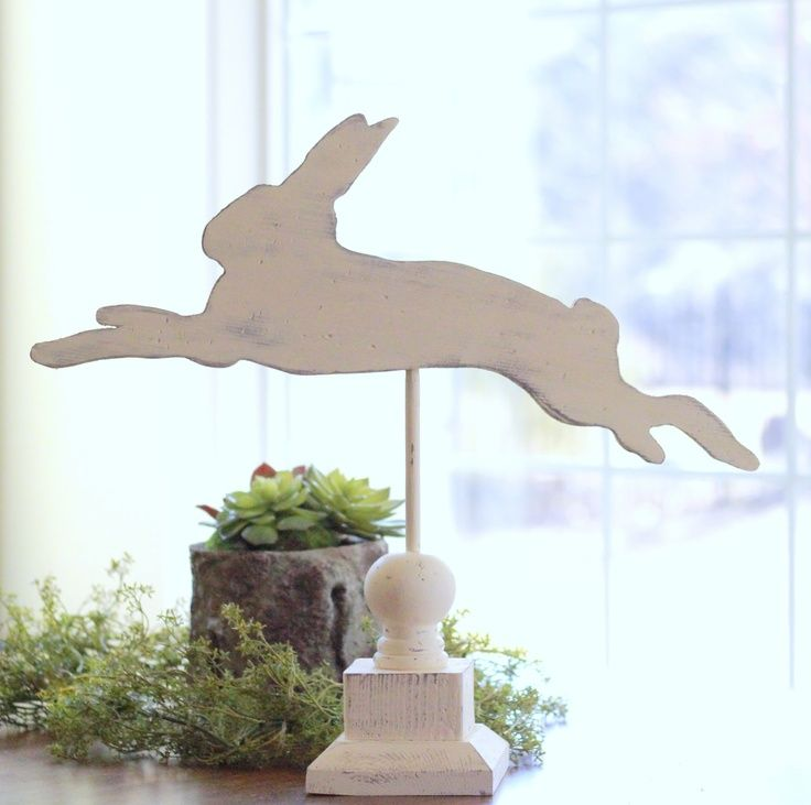 Picking from the Crafty Sisters vault today is our fun Bunny Silhouette Weather Vanes we did a few years ago.   Make sure to go  HERE  f...