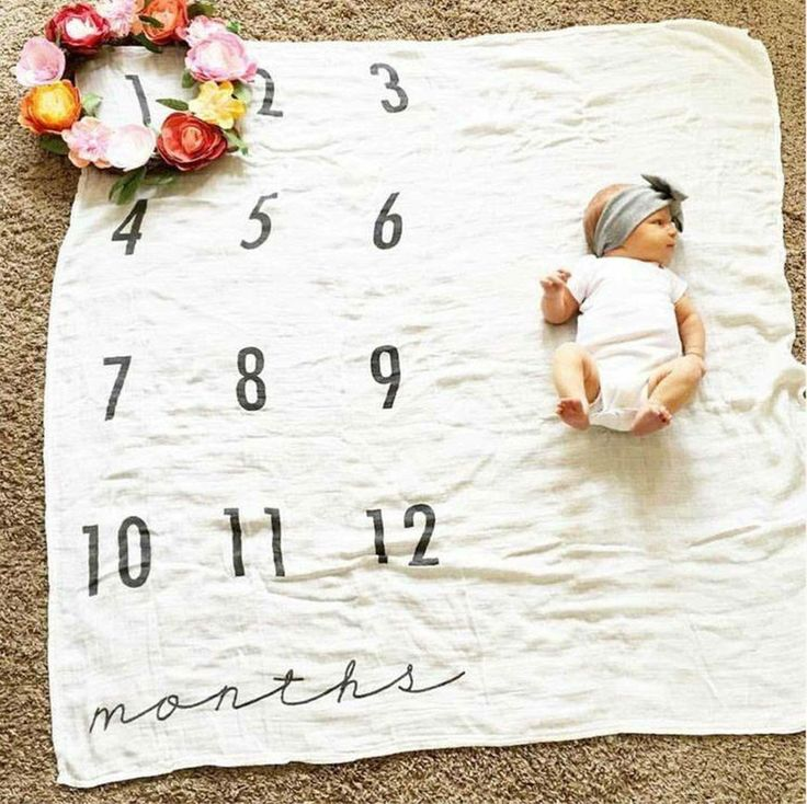 Cute baby growth picture