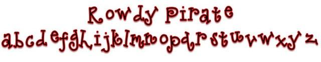 Free Pirate font!