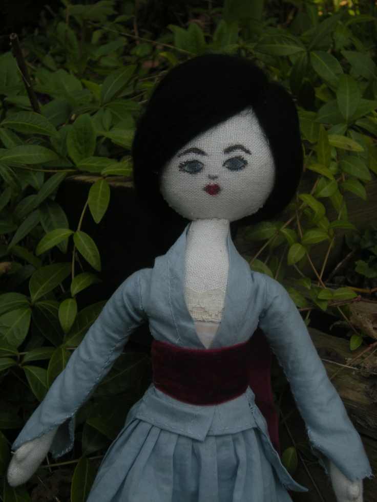 Eleanor is one of the first dolls I made! I sold her 'mother' and I am keeping her sister.