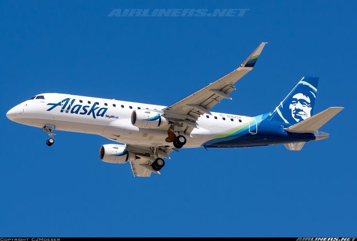 Embraer 175LR (ERJ-170-200LR) - Alaska Airlines (SkyWest Airlines) | Aviation…