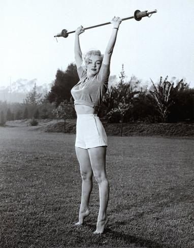 Marilyn Workin' It Lámina