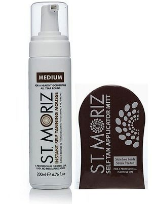 Which self tanner lotions and sprays work best and which ones don't smell? We run down the 15 best self-tanners that won't turn you orange.: St. Moriz Self Tanning Spray in Medium, $7