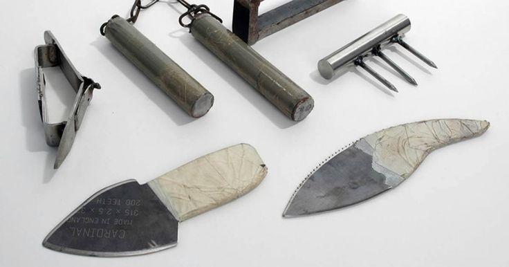 Τα 9 ΠΙΟ τρομακτικά Αυτοσχέδια όπλα που έχουν Βρεθεί ποτέ σε Φυλακές. Το 7ο θα σας Σοκάρει! Crazynews.gr