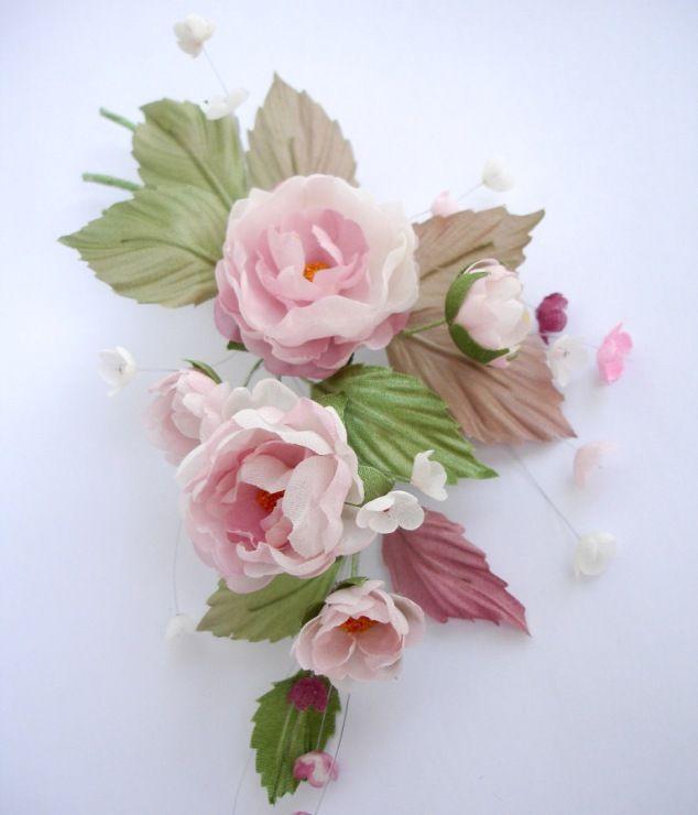 Gallery.ru / Фото #9 - Цветы из шёлка - ryzhovatv