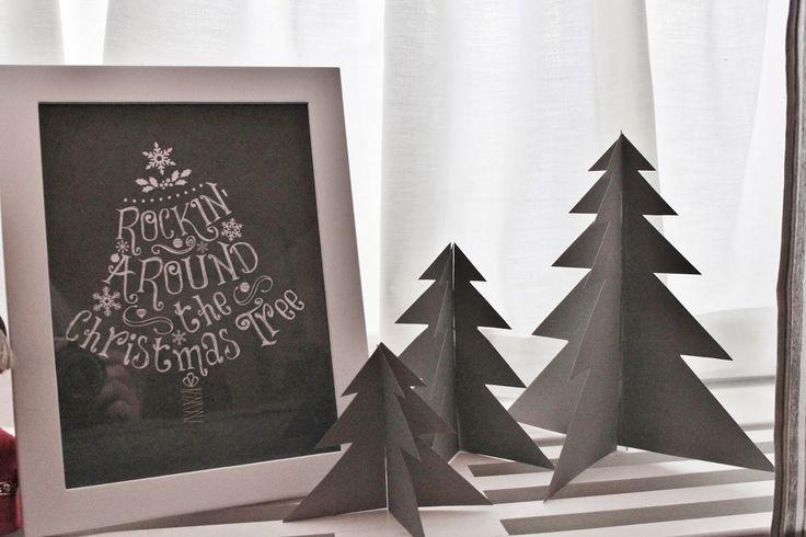 livets fina stunder - christmastree DIY