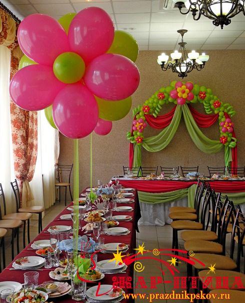 balloon arch  balloon flowers!!