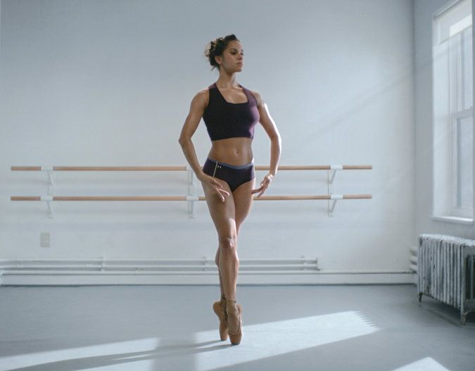To celebrate her kick ass Under Armour commercial that came out today - Misty Copeland - NYTimes.com #IWillWhatIWant