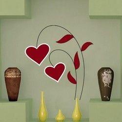 Καρδολούλουδο,  αυτοκόλλητο τοίχου ,15,50 €,https://www.stickit.gr/index.php?id_product=494&controller=product