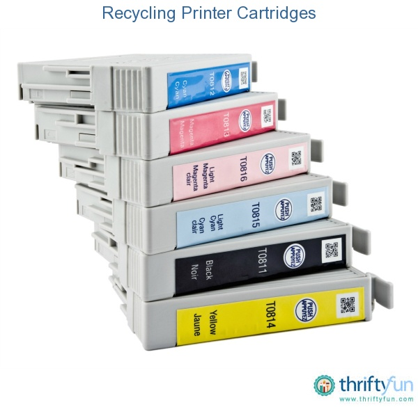 This guide is about recycling printer cartridges. When you want to have your cartridge refilled or just make sure it is recycled.