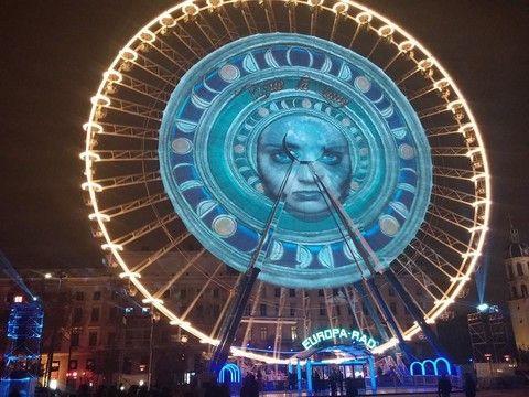 Fête des Lumières Lyon 2014 - Place Bellecour