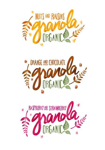 Packed Design - Referências de Design de Embalagens: Granola Packaging