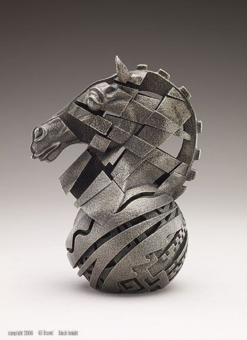Check Mate - By Gil Bruvel 4 #GilBruvel #Chess #Art
