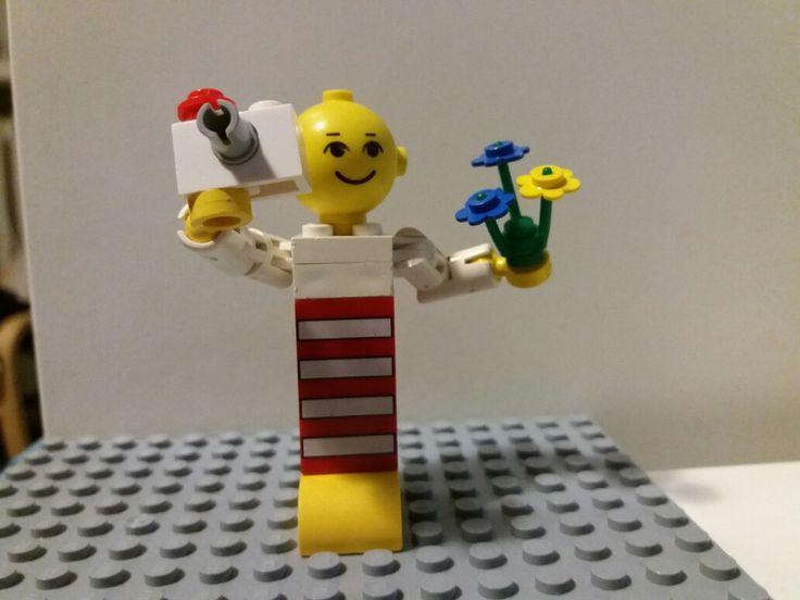 Old big lego photographer