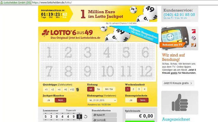 lottoschein online