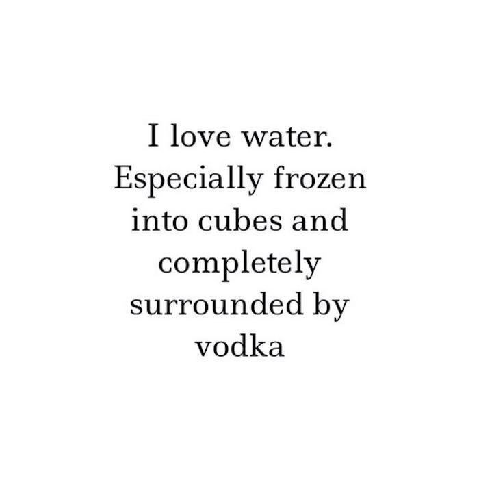 Wodka on the rocks