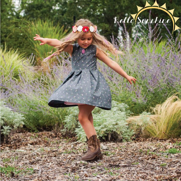 Rebel Girl, Party Dress, PDF Sewing Pattern, girls dress pattern, open back dress, sewing pattern, flower girl dress, cutout dress, by BellaSunshineDesigns on Etsy https://www.etsy.com/listing/240415708/rebel-girl-party-dress-pdf-sewing