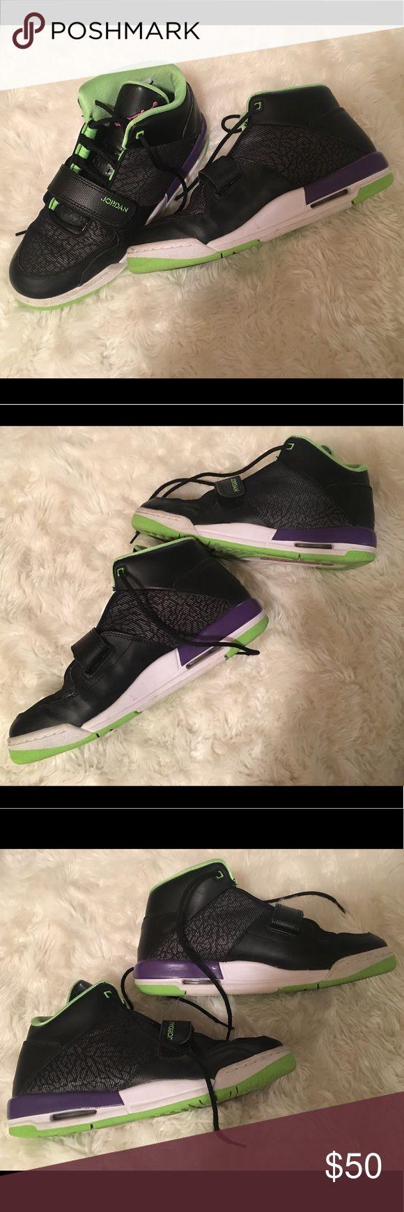 Nike Air Jordan Flight Club 90's Sneakers Very cute black, pink, purple, green Jordans Jordan Shoes Sneakers
