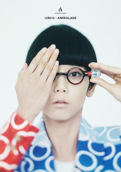 【画像 1/5】世界初の液体レンズメガネ「アドレンズ」とコラボ ANREALAGEが制服や空間をデザイン | Fashionsnap.com