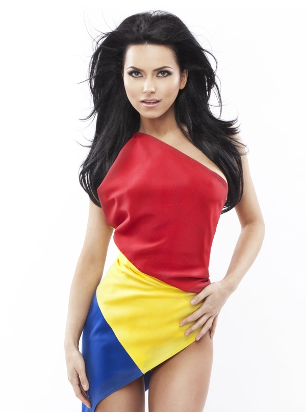 Today, INNA is a Romanian girl.