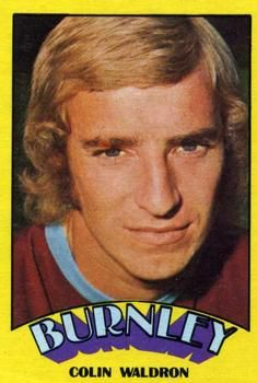 1974-75 A&BC Gum #124 Colin Waldron Front