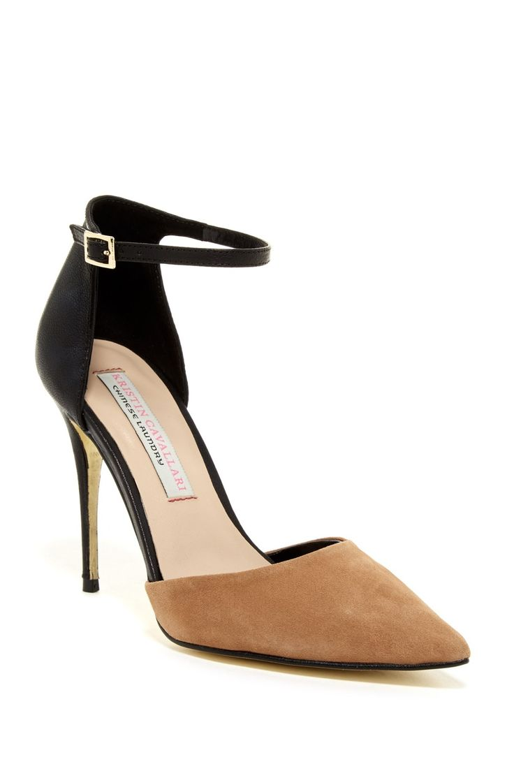 Two tone Kristin Cavallari by Chinese Laundry Drifter d'Orsay Pumps