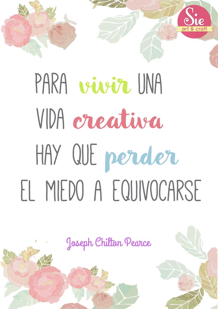 Sie - Art & Craft: Vida Creativa ♥