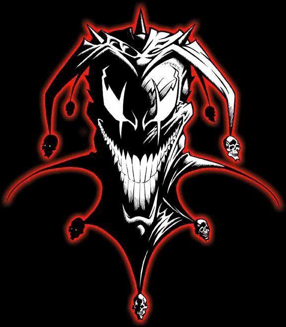 Evil Jester Tattoo Design #2 | Tattoos | Pinterest