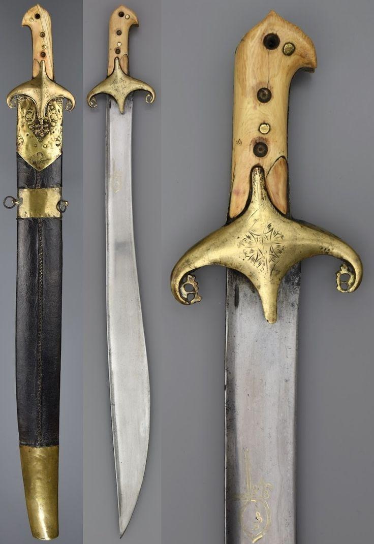 17th century Ottoman karabela yatagan.