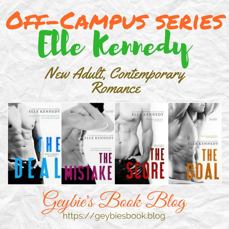 Off-Campus series by Elle Kennedy