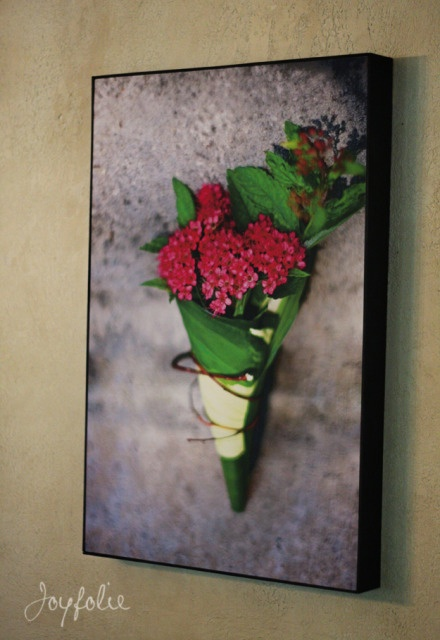 """How to print and mount a large {24""""x16""""} picture for under $40  #DIY #crafts #photography"""