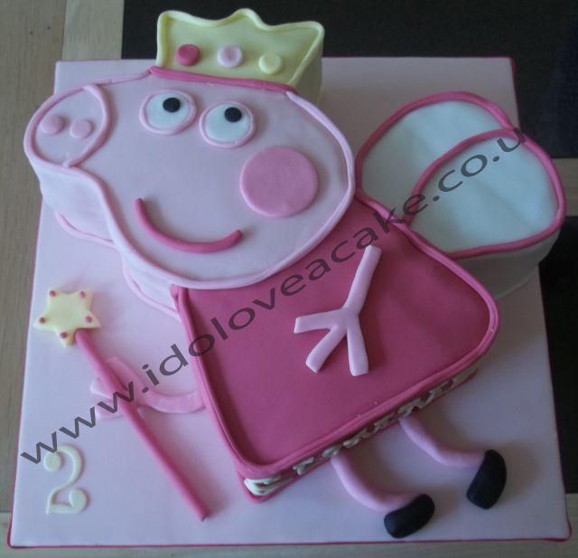 Fairy Princess Peppa Cake
