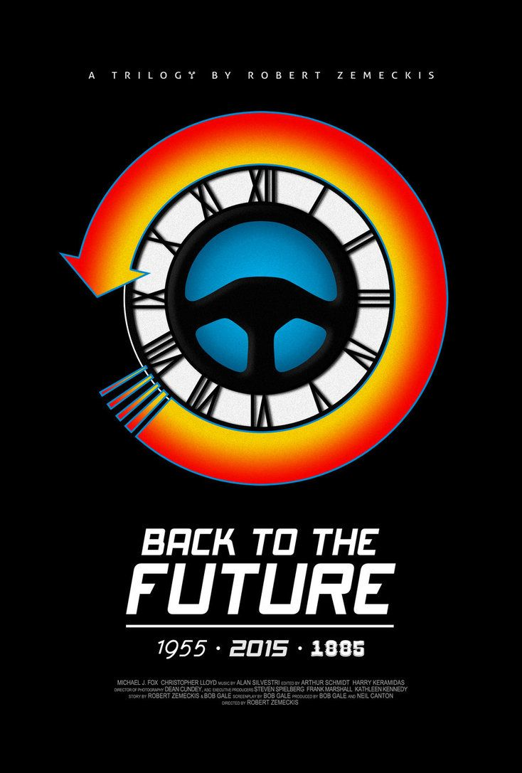 Back To The Future Poster By Drmierzwiak On Deviantart Imagens