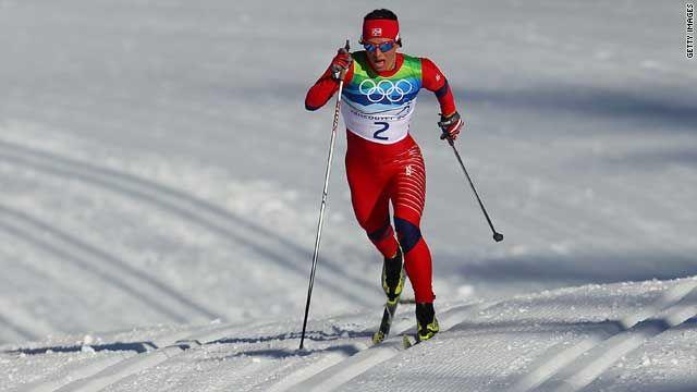 Norwegian cross-country skier Marit Bjørgen