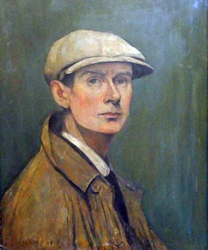 LS Lowry self portrait 1887 -1976 Lowry was born in Manchester and worked as a clerk and studied art at night school. His paintings in a deliberately childish 'matchstick figure' style portray people and their everyday activities in the industrial city of Salford where Lowry spent most of his life