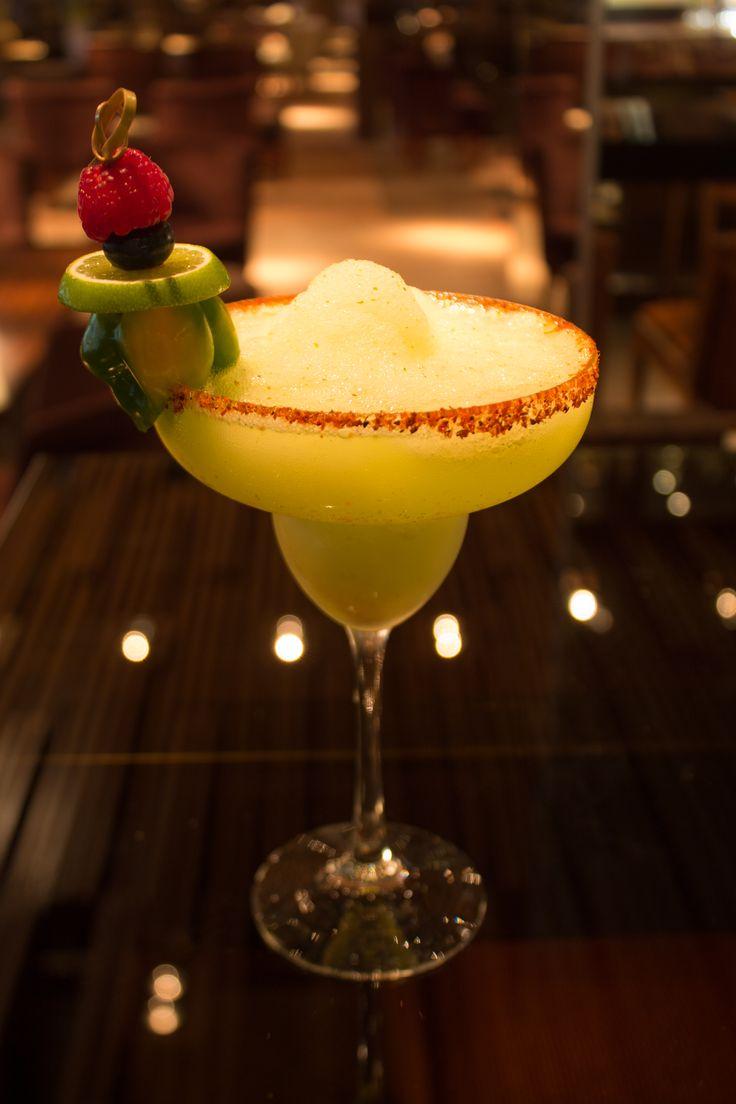 Exquisite and Refreshing Frozen Habanero Chili #Margarita in #KoiBar, Grand Velas Riviera Maya. #GrandVelas #GVRivieraMaya #VelasResorts