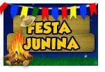 festa-junina  Música – Trilha sonora de Festa Junina é, obrigatoriamente, ritmos nordestinos – forró, baião, xote e xaxado. Nossa dica é tocar músicas de raiz, como Luiz Gonzaga, rei do baião. -