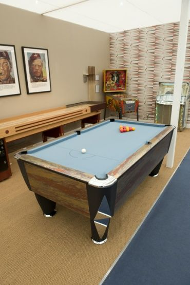 7ft Stratos English Pool Table - The Stratos English has been engineered to perfection: a soundproofed Proactive cusion system provides the most consistent ball response possible during the game, and the playing area is bordered by smart chrome corner plates on the top frame. A strong build, smooth style and superb game-play all help cement the Stratos' status as a premier English pool table, and the one that's used for all major English pool tournaments in both the UK and Europe.