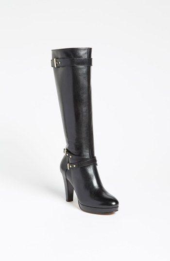 """Cole Haan 'Air Cara' Boot - 3 3/4"""" heel; 5/8"""" platform 15 1/2"""" boot shaft; 15"""" calf circumference"""