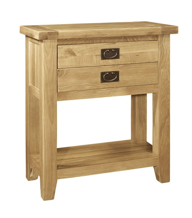 Console tables are so chic right now, and our French Farmhouse Oak Small Console Table ticks all the right boxes. With its solid oak, rustic farmhouse style, it will stand out wherever you choose to put it, whether in a hallway or another room in the house. It includes tongue and groove panels, dovetail drawer joints and is hand finished with a light lacquer, adding to its beautiful look. £209