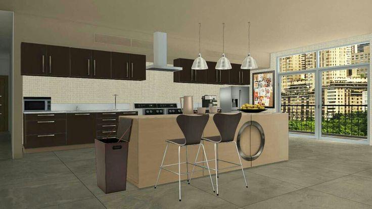 Apartment kitchen concept