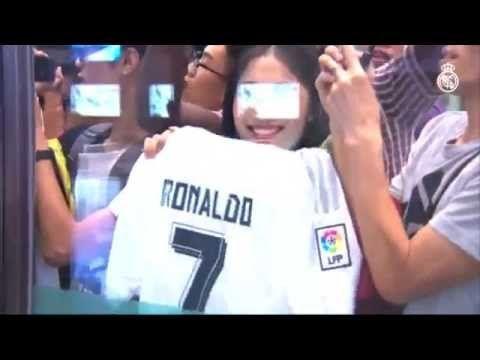 Video Cuarta visita del Real Madrid a China