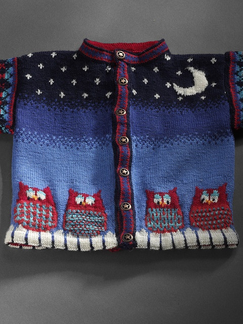 Dale of Norway Baby Owl - Sweater
