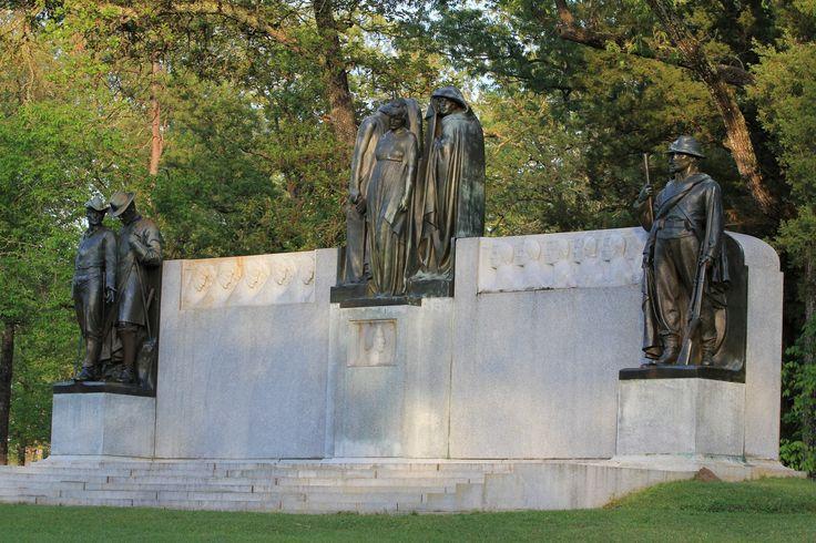 Shiloh Battlefield ~ Confederate Memorial, also known as ...